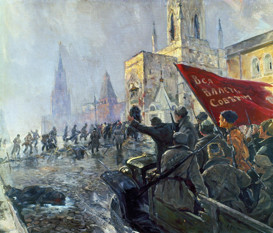 The Russian Revolution: After October  (1/4)