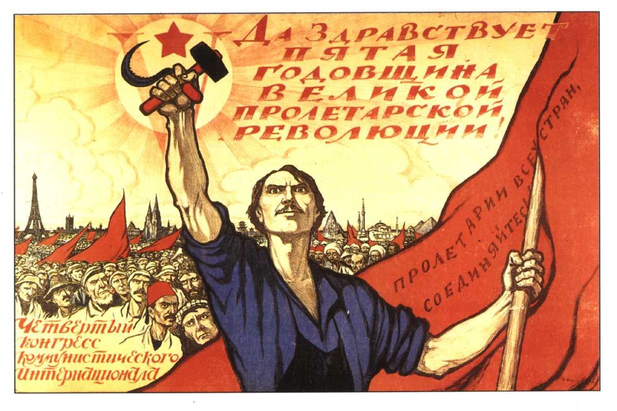 the history of bolshevik propaganda David king recently published a stunning book called russian revolutionary posters, which traces the history of these striking propaganda pieces from the.