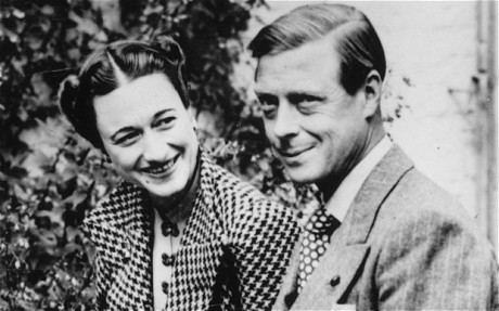 Edward VIII and Mrs. Simpson