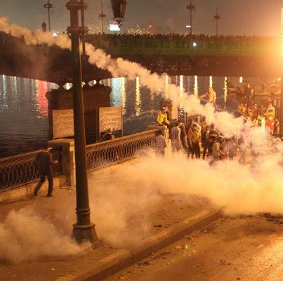 Protesters teargassed in Egypt