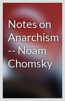 chomsky anarchism