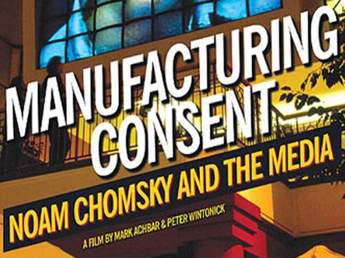 noam chomsky manufacturing consent essay Paper presentation on satellite communications noam chomsky essays tips to  ordersmanufacturing consent:  language essay  noam chomsky.