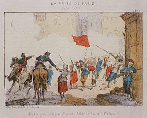 Men and Women Defending the Commune