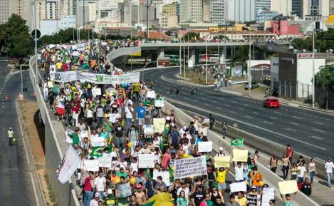Brazilian Protests Continue