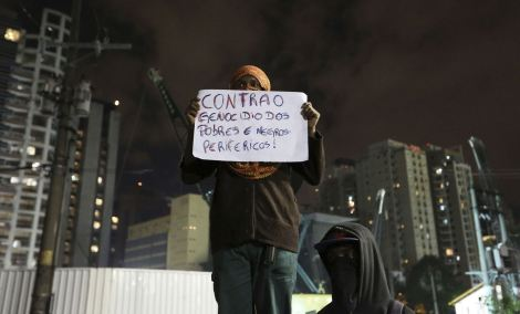 BRAZIL-PROTESTS INDIGENOUS
