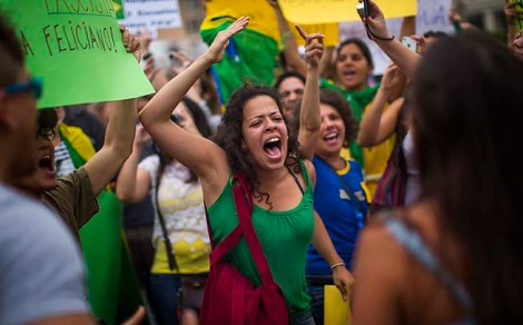 Popular Protest in Brazil