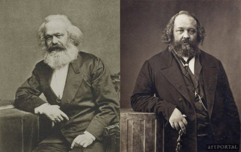 Marx and Bakunin