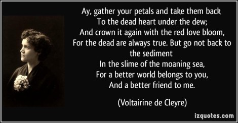 De Cleyre quote