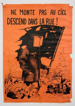 feminism attack poster