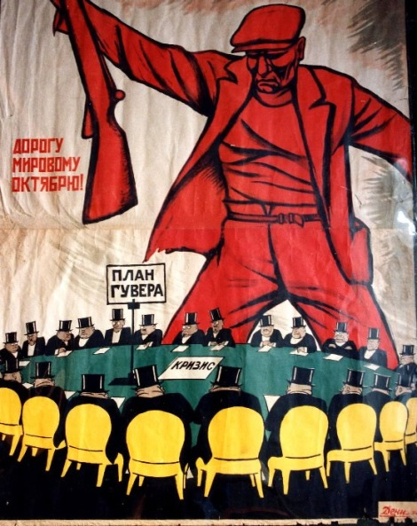 The October Revolution in Russia