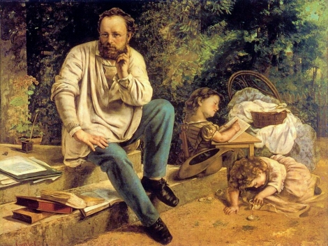 Proudhon by Courbet