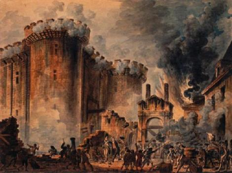 Storming the Bastille