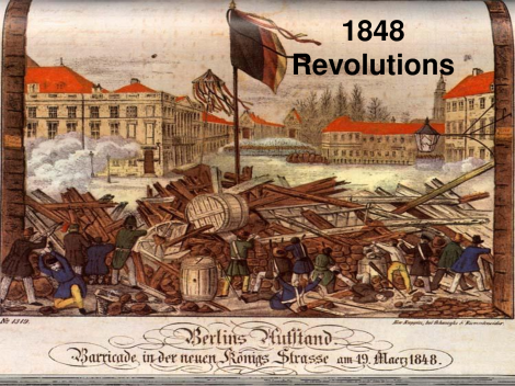 1848 European Revolutions