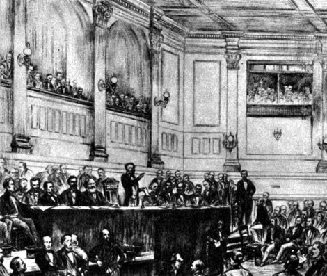 Founding Congress of the International, September 28, 1864