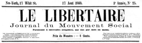 Déjacque's Le Libertaire