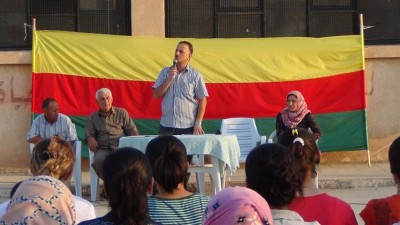 Tev-Dem (Movement for a Democratic Society) Meeting in Qamishli