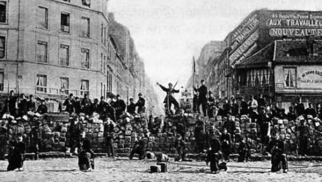 The Paris Commune - Street Barricades