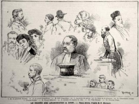 The Lyon Anarchist Trial