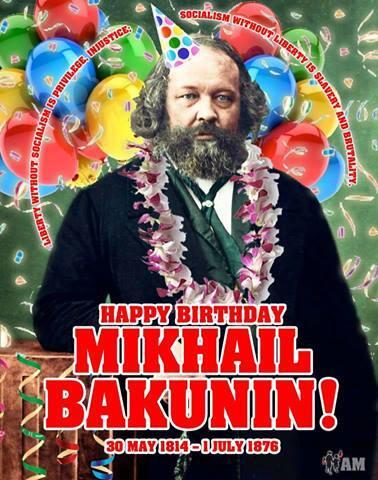 Bakunin birthday
