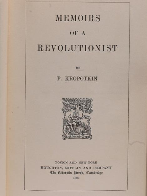 Kropotkin memoirs