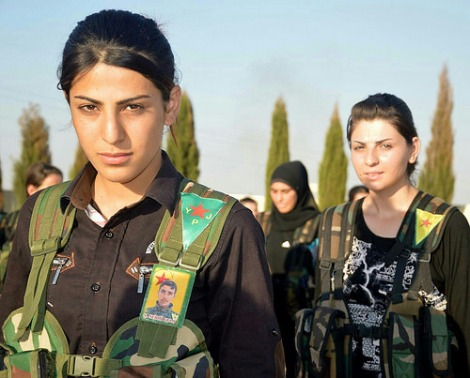 Revolutionary Women in Rojava