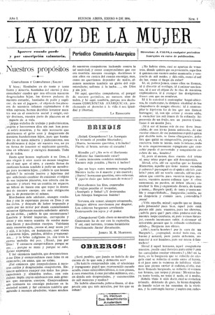 First Anarchist Feminist Paper