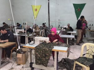 A sewing co-op in Rojava