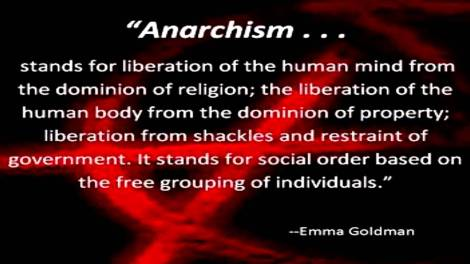 Goldman anarchism quote