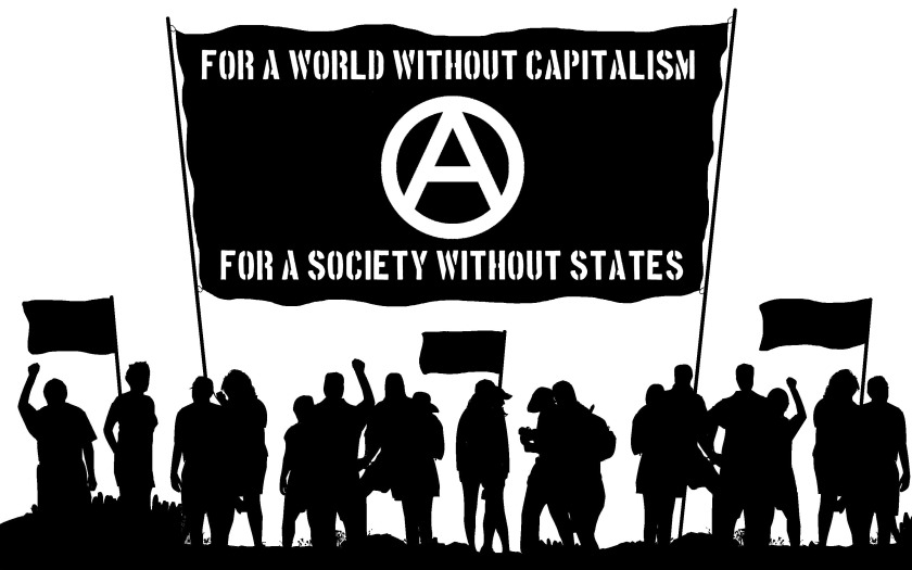 Image result for a world without police.. anarchist