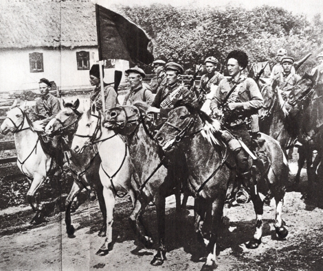 Makhnovist cavalry