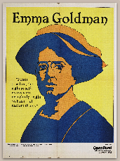 OR poster Emma Goldman