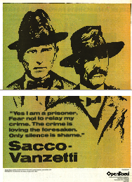 OR Poster Sacco & Vanzetti