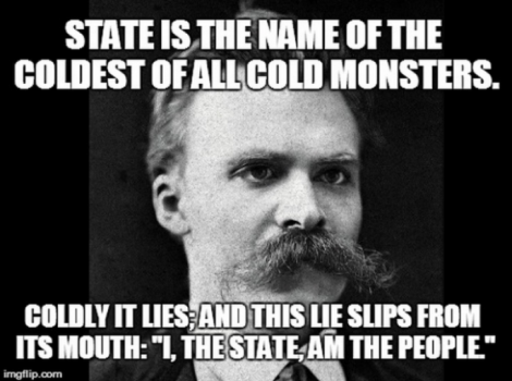 Nietzsche on the State