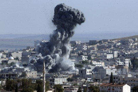 ISIS attacks Kobane