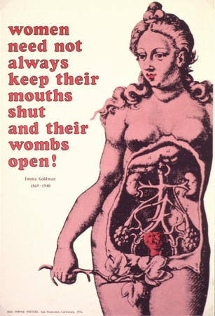Popular Goldman poster