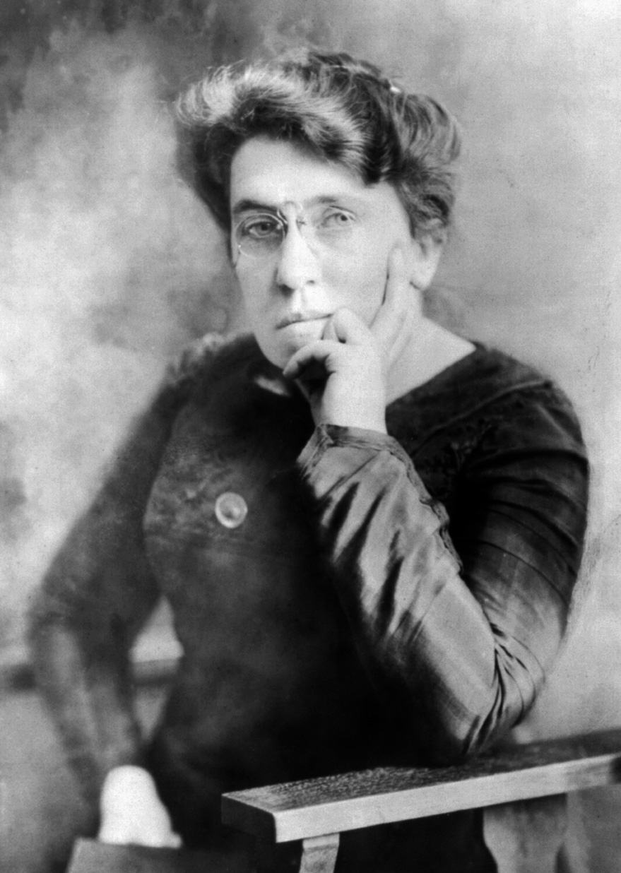 emma goldman and anarchy Ally fogg: a hundred years after her masterpiece appeared, emma goldman's concerns are as current as ever.