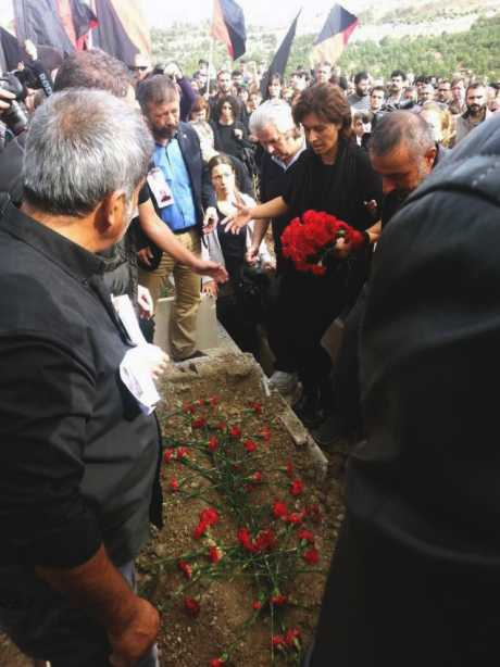 Funeral for Turkish anarcho-syndicalist Ali Kitapci