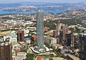 "The Soma Group ""Spine Tower"" in Ankara"