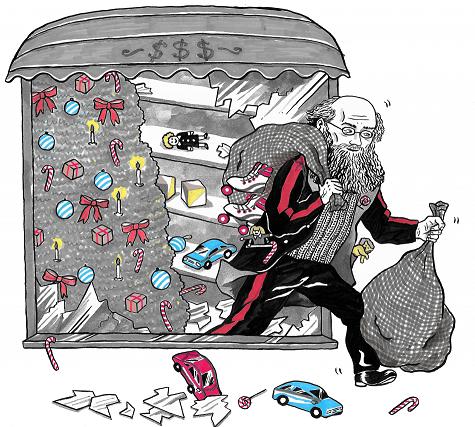 The Christmas Spirit of Revolt