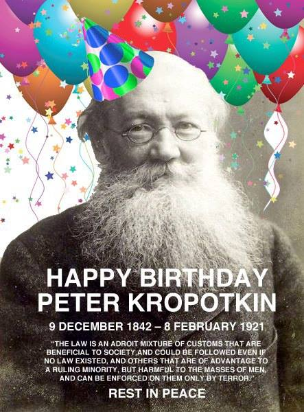 Peter-Kroptkin birthday