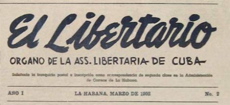 Anti-Castro Cuban anarchist paper