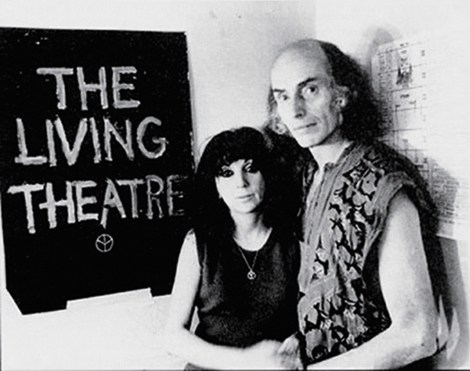 Judith Malina and Julian Beck
