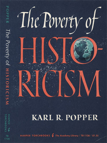 popper poverty of historicism