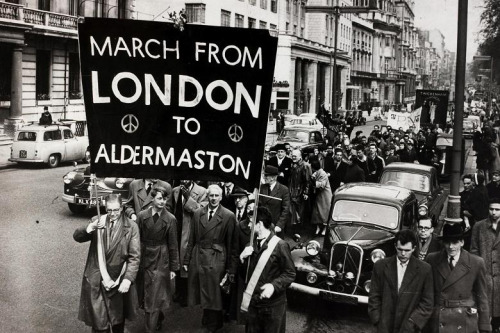 1960 Ban the Bomb March