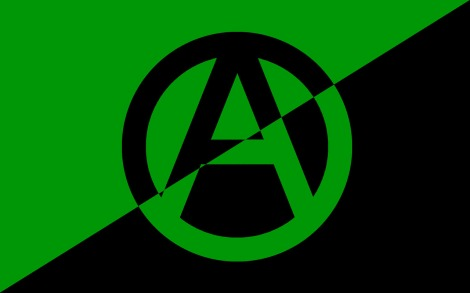 eco anarchist flag