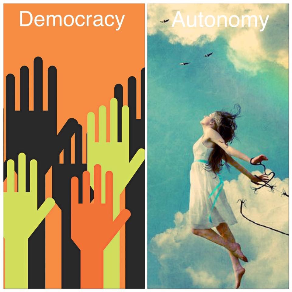 democracy autonomy