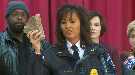 Minneapolis police chief Harteau