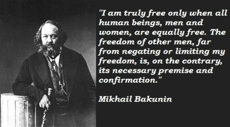 bakunin on freedom