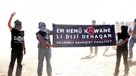 daf anarchist banner