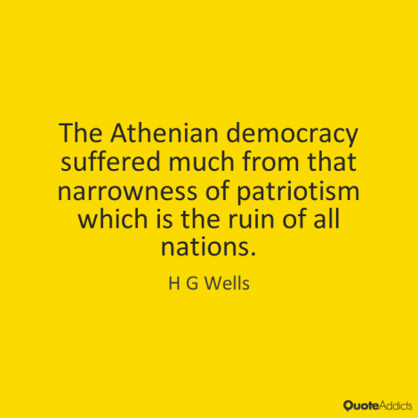 wells athenian democracy